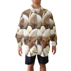 Tropical Exotic Sea Shells Wind Breaker (kids) by yoursparklingshop