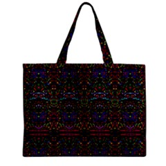 Purple 88 Zipper Mini Tote Bag by MRTACPANS