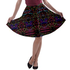 Bubble Up A Line Skater Skirt by MRTACPANS