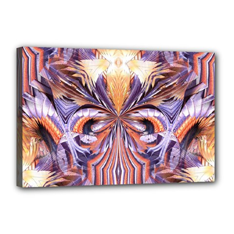 Fire Goddess Abstract Modern Digital Art  Canvas 18  X 12  by CrypticFragmentsDesign