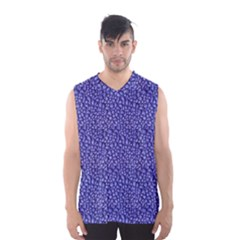 Abstract Texture Print Men s Basketball Tank Top by dflcprintsclothing