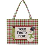Snowman Tote - Mini Tote Bag