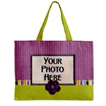 Purple and Stripes Tote - Mini Tote Bag