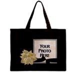 Wood Background tote - Mini Tote Bag