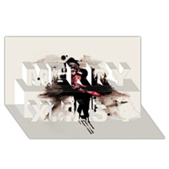Leatherface 1974 Merry Xmas 3d Greeting Card (8x4)