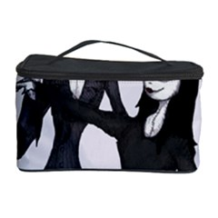Jack & Sally Addams  Cosmetic Storage Cases by lvbart