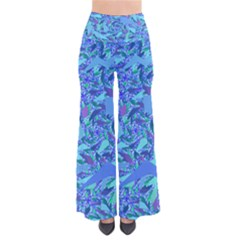 Blue Confetti Storm Pants by KirstenStar