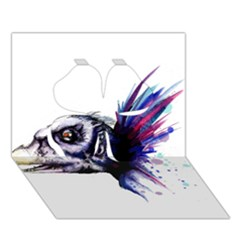 Skeksis Clover 3d Greeting Card (7x5)