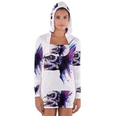 Skeksis Women s Long Sleeve Hooded T Shirt by lvbart