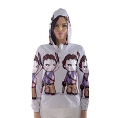 Plushie Boomstick Hooded Wind Breaker (women) by lvbart