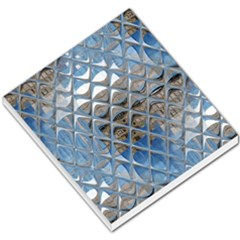 Mirrored Glass Tile Urban Industrial Small Memo Pads
