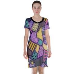 Ragdoll Scraps Short Sleeve Nightdress