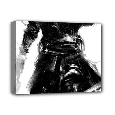 Assassins Creed Black Flag Tshirt Deluxe Canvas 14  X 11  by iankingart
