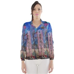 Las Vegas Strip Walking Tour Wind Breaker (Women) by CrypticFragmentsDesign