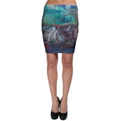 Vegas The Deep End  Bodycon Skirt by CrypticFragmentsColors