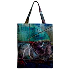 Vegas The Deep End  Zipper Classic Tote Bag by CrypticFragmentsColors