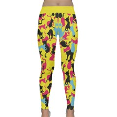Camouflage Color2 Yoga Leggings  by Wanni