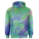 Green Blue Pink Color Splash Men s Pullover Hoodie