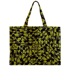 Modern Abstract Interlace Zipper Mini Tote Bag by dflcprints