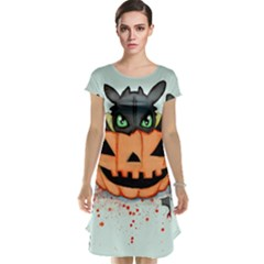 Halloween Dragon Cap Sleeve Nightdress by lvbart