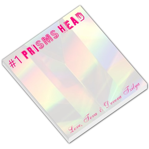 Present For Editors 17 By Tova Kipper   Small Memo Pads   95cgm5oi3oh1   Www Artscow Com