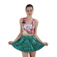 Tropical Hawaiian Print Mini Skirt by dflcprintsclothing