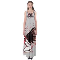 Dominance Empire Waist Maxi Dress