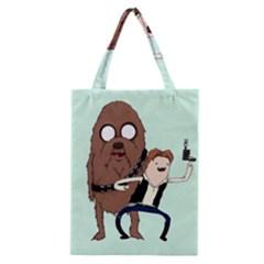 Space Adventure! Mans Best Friend Classic Tote Bag by lvbart