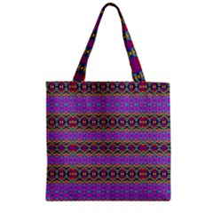 Dance Hall Zipper Grocery Tote Bag by MRTACPANS
