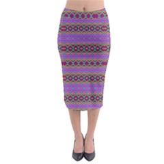 Dance Hall Midi Pencil Skirt