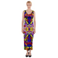 Psycho One Fitted Maxi Dress