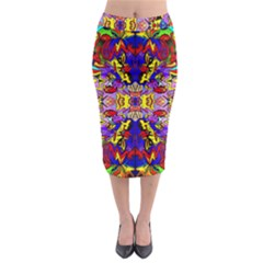 Psycho One Midi Pencil Skirt by MRTACPANS