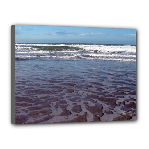 Ocean Surf Beach Waves Canvas 16  X 12