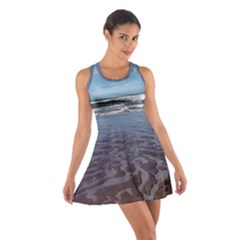 Ocean Surf Beach Waves Racerback Dresses by CrypticFragmentsColors