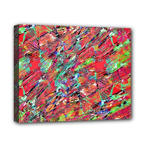 Expressive Abstract Grunge Canvas 10  X 8  by dflcprints