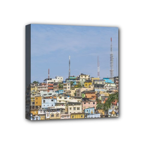 Cerro Santa Ana Guayaquil Ecuador Mini Canvas 4  X 4  by dflcprints
