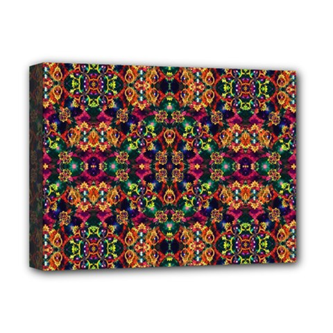 Luxury Boho Baroque Deluxe Canvas 16  X 12   by dflcprints