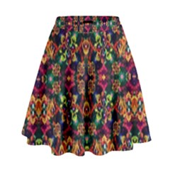Luxury Boho Baroque High Waist Skirt by dflcprintsclothing