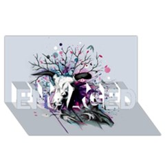 From Nature We Must Stray Engaged 3d Greeting Card (8x4)