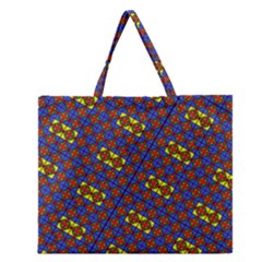 Twist Zipper Large Tote Bag by MRTACPANS