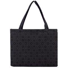 Black Perfect Stitch Mini Tote Bag by MRTACPANS