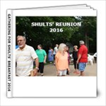 SHULTS  BREAKFAST 2016 - 8x8 Photo Book (20 pages)