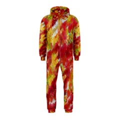 Colorful Splatters                                      Hooded Jumpsuit (kids) by LalyLauraFLM