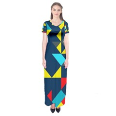 Short Sleeve Maxi Dress by LalyLauraFLM
