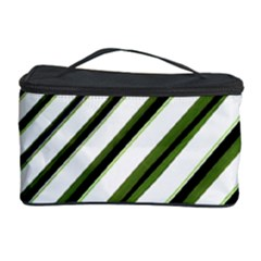 Diagonal Stripes Cosmetic Storage Cases by dflcprints