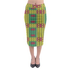 Oregon Delight Midi Pencil Skirt