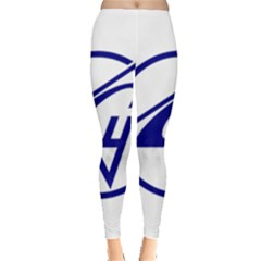 Sukhoi Aircraft Logo Leggings  by Casanova