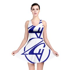 Sukhoi Aircraft Logo Reversible Skater Dress by Casanova