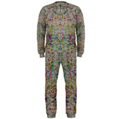 Colors For Peace And Lace In Rainbows In Decorative Style Onepiece Jumpsuit (men)  by pepitasart