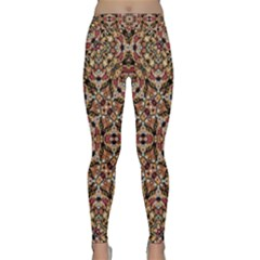 Boho Chic Yoga Leggings by dflcprintsclothing